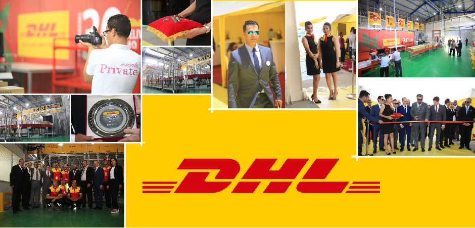 DHL GATEWAY NEW OPENING TANGIER AEROPORT