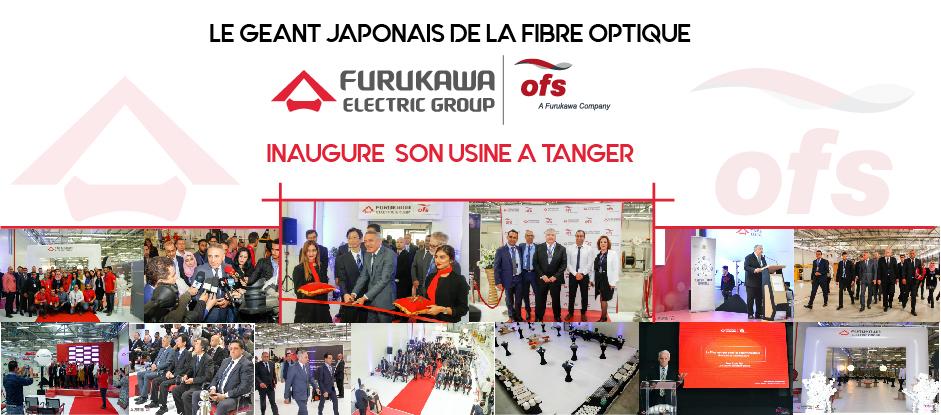 Le Géant Japonais de la Fibre Optique Furukawa Inaugure Son Usine