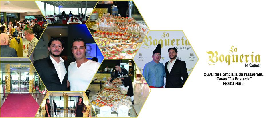 Ouverture officielle du restaurant tapas LA BOQUERIA TANGER