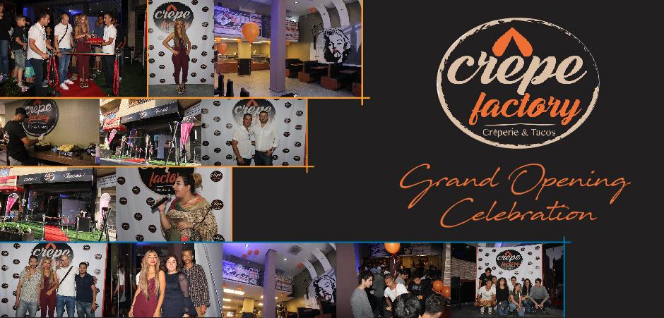 "Inauguration Crêperie "" Crêpe Factory"" Tanger"