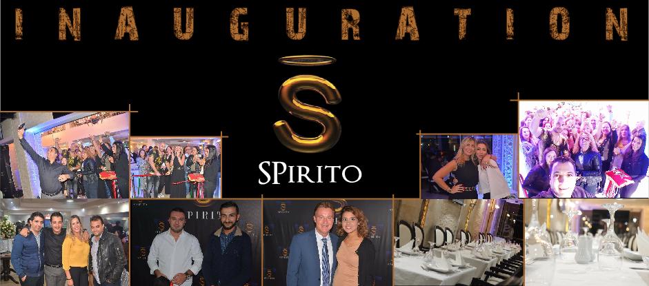 Inauguration Restaurant SPIRITO