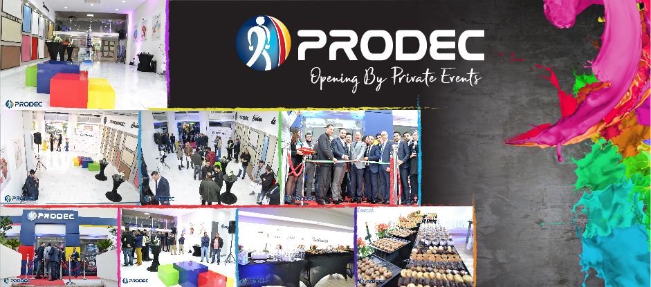 Inauguration Showroom PRODEC