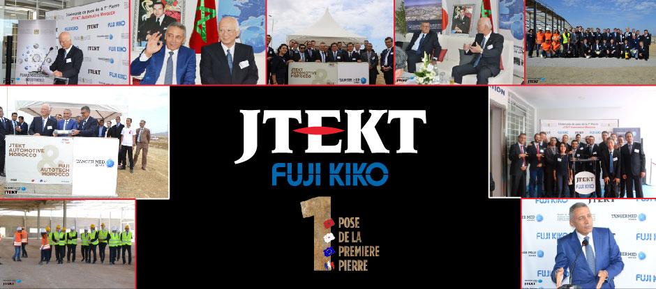 Cérémonie du lancement de la première pierre JTEKT AUTOMOTIVE MOROCCO