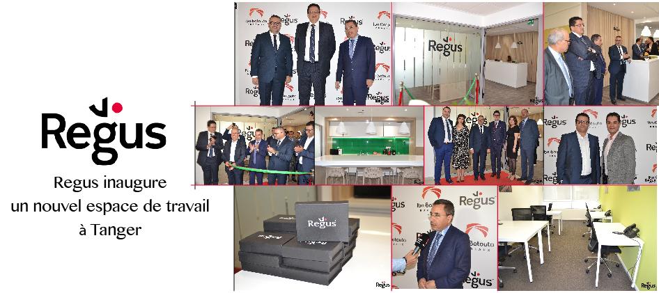 Regus inaugure un nouvel espace de travail à Tanger