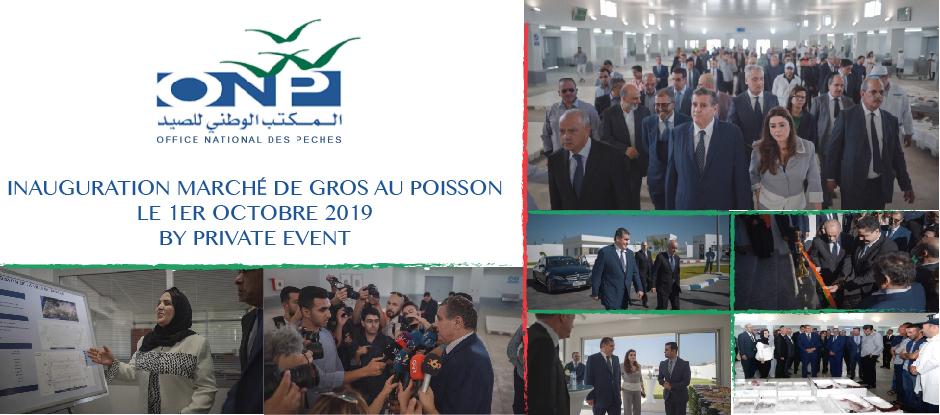 Inauguration Marché de Gros au Poisson